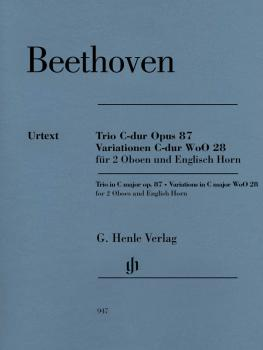 Trio in C Major, Op. 87/Variations in C Major, WoO 28: Two Oboes and E (HL-51480947)