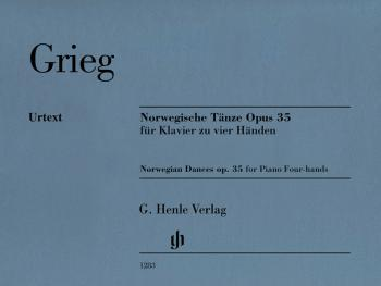 Norwegian Dances, Op. 35 (Piano Duet for 4 Hands) (HL-51481283)
