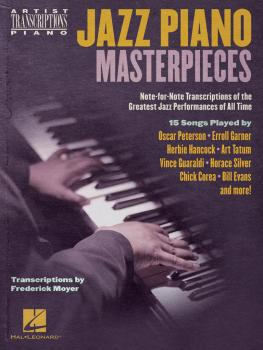 Jazz Piano Masterpieces - Note-for-Note Transcriptions of the Greatest (HL-00255671)