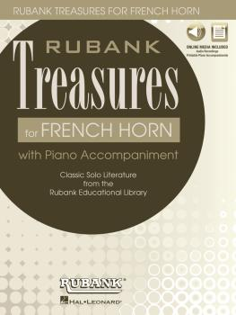 Rubank Treasures for French Horn: Book with Online Audio stream or dow (HL-00121442)