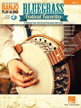 Bluegrass Festival Favorites: Banjo Play-Along Volume 9 (HL-00263129)
