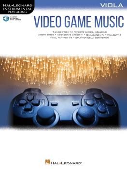 Video Game Music for Viola: Instrumental Play-Along® Series (HL-00283886)