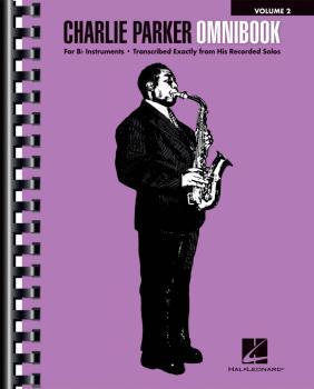 Charlie Parker Omnibook - Volume 2 (for B-flat Instruments) (HL-00265663)