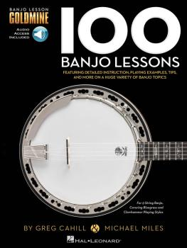 100 Banjo Lessons: Guitar Lesson Goldmine Series (HL-00199143)