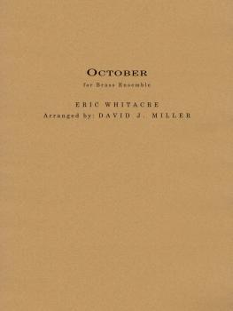October (for Brass Ensemble) (HL-00289177)