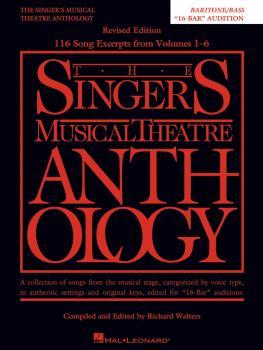 Singer's Musical Theatre Anthology: 16-Bar Audition - Revised: Bariton (HL-00260627)