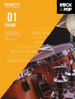 Trinity Rock & Pop 2018 Drums (Grade 1) (HL-00288712)