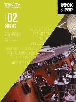 Trinity Rock & Pop 2018 Drums (Grade 2) (HL-00288796)