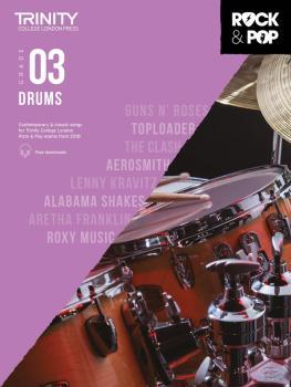 Trinity Rock & Pop 2018 Drums (Grade 3) (HL-00288797)