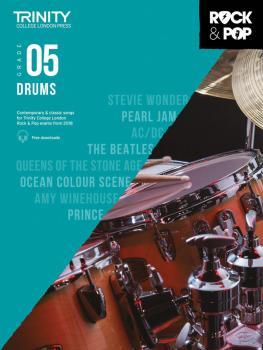 Trinity Rock & Pop 2018 Drums (Grade 5) (HL-00288799)