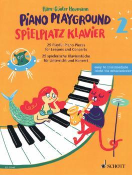 Piano Playground, Book 2 [Spielplatz Klavier 2]: 25 Playful Piano Piec (HL-49046119)
