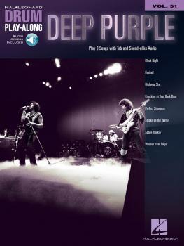 Deep Purple: Drum Play-Along Volume 51 (HL-00278400)
