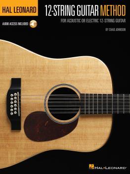 Hal Leonard 12-String Guitar Method (For Acoustic or Electric 12-Strin (HL-00249528)