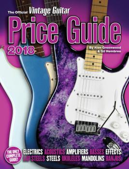 The Official Vintage Guitar Magazine Price Guide 2018 (HL-00249582)
