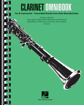 Clarinet Omnibook for B-flat Instruments (Transcribed Exactly from Art (HL-00242667)