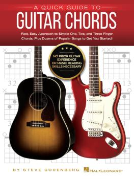 A Quick Guide to Guitar Chords: No Prior Guitar Experience or Music Re (HL-00283645)