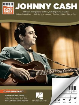 Johnny Cash - Super Easy Songbook (HL-00287524)