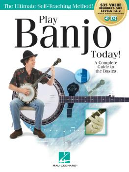 Play Banjo Today! All-in-One Beginner's Pack: Includes Book 1, Book 2, (HL-00293928)
