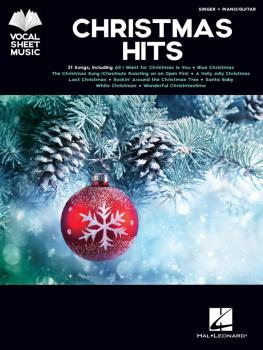 Christmas Hits: Singer + Piano/Guitar (HL-00295312)