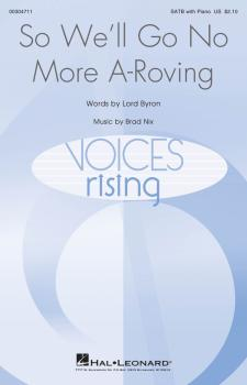 So, We'll Go No More A Roving (Voices Rising Series) (HL-00304711)
