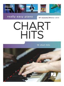 Really Easy Piano - Chart Hits (HL-00287657)