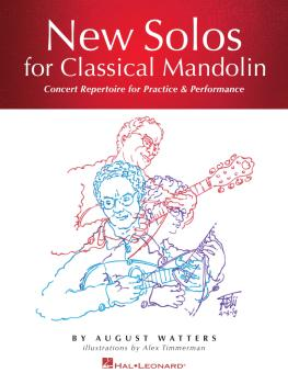 New Solos for Classical Mandolin: Concert Repertoire for Practice & Pe (HL-00290988)