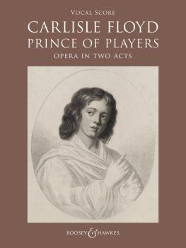 Prince of Players: Opera in Two Acts Vocal Score (HL-48024812)