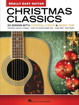 Christmas Classics - Really Easy Guitar Series: 22 Songs with Chords,  (HL-00348327)