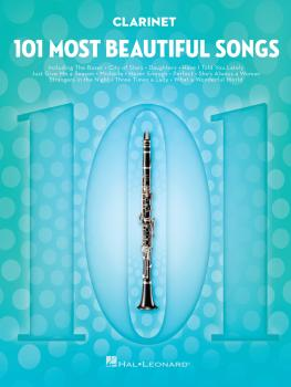 101 Most Beautiful Songs (for Clarinet) (HL-00291041)