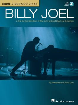 Billy Joel: A Step-by-Step Breakdown of Billy Joel's Keyboard Styles a (HL-00345363)