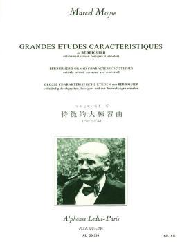 Grandes Etudes Caracteristiques de Berbiguier (for Flute) (HL-48181132)