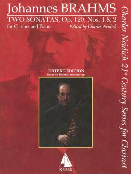 Two Sonatas, Op. 120, No. 1 & 2 (for Clarinet and Piano Charles Neidic (HL-00298301)