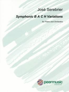Symphonic B A C H Variations (for Piano and Orchestra Full Score) (HL-00346456)