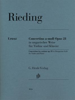 Concertino In Hungarian Style in A Minor, Op. 21: Violin and Piano Red (HL-51481056)