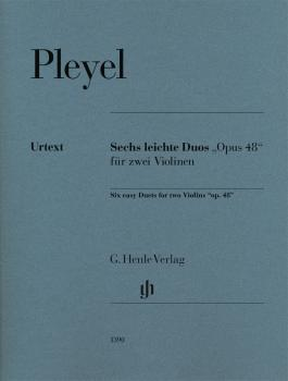 6 Duets for 2 Violins, Op. 48 (HL-51481390)