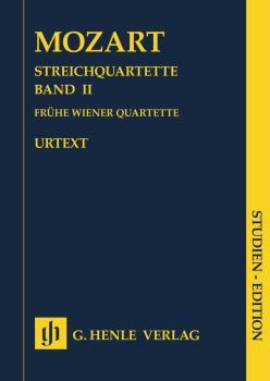 String Quartets Volume 2: Early Viennese Quartets Study Score (HL-51487121)