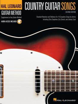 Country Guitar Songs - 2nd Edition: Hal Leonard Guitar Method (HL-00354721)
