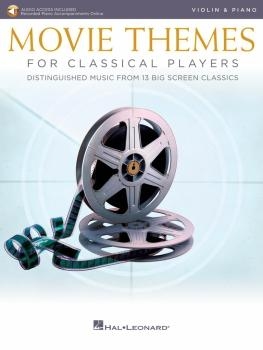Movie Themes for Classical Players - Violin and Piano (With online aud (HL-00284606)