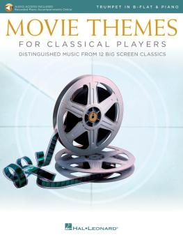 Movie Themes for Classical Players - Trumpet and Piano (With online au (HL-00284610)