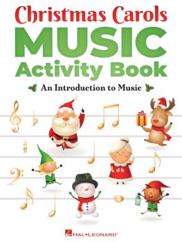 Christmas Carols Music Activity Book (HL-00349016)