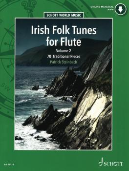 Irish Folk Tunes for Flute - Volume 2 (With Online Audio Performances) (HL-49046502)