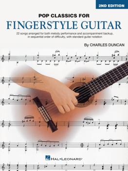 Pop Classics for Fingerstyle Guitar - 2nd Edition (HL-00346237)