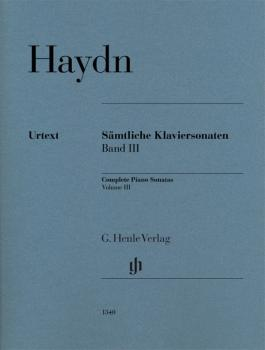 Complete Piano Sonatas, Volume III: Revised Edition for Piano Solo wit (HL-51481340)