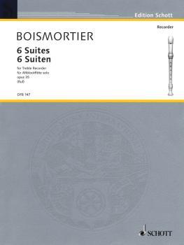 6 Suites Op. 35 (for Treble Recorder) (HL-49011249)