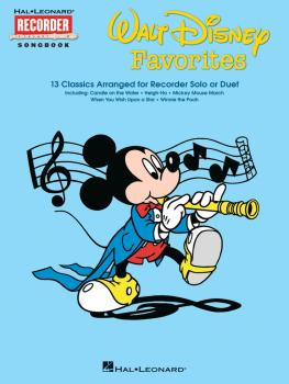 Walt Disney Favorites: Hal Leonard Recorder Songbook Series (HL-00710100)