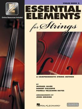 Essential Elements for Strings - Book 2 with EEi (Violin) (HL-00868057)