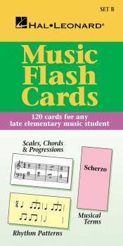 Hl Flash Cards Set B Hl Student Piano Library International (HL-00298029)