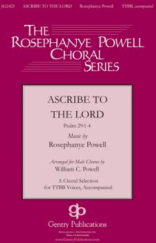 Ascribe to the Lord (HL-00119060)