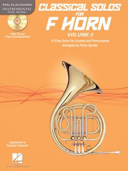 Classical Solos for F Horn, Vol. 2: 15 Easy Solos for Contest and Perf (HL-00121144)