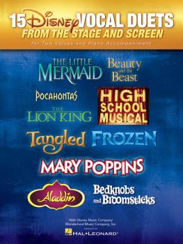 15 Disney Vocal Duets (from Stage and Screen for Two Voices and Piano  (HL-00124471)